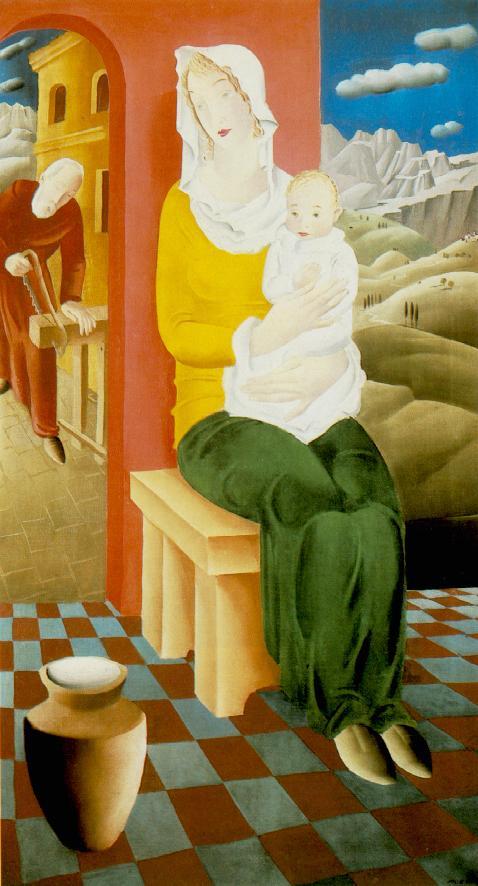 Madonna 1930 | Pai C Molnar | Oil Painting