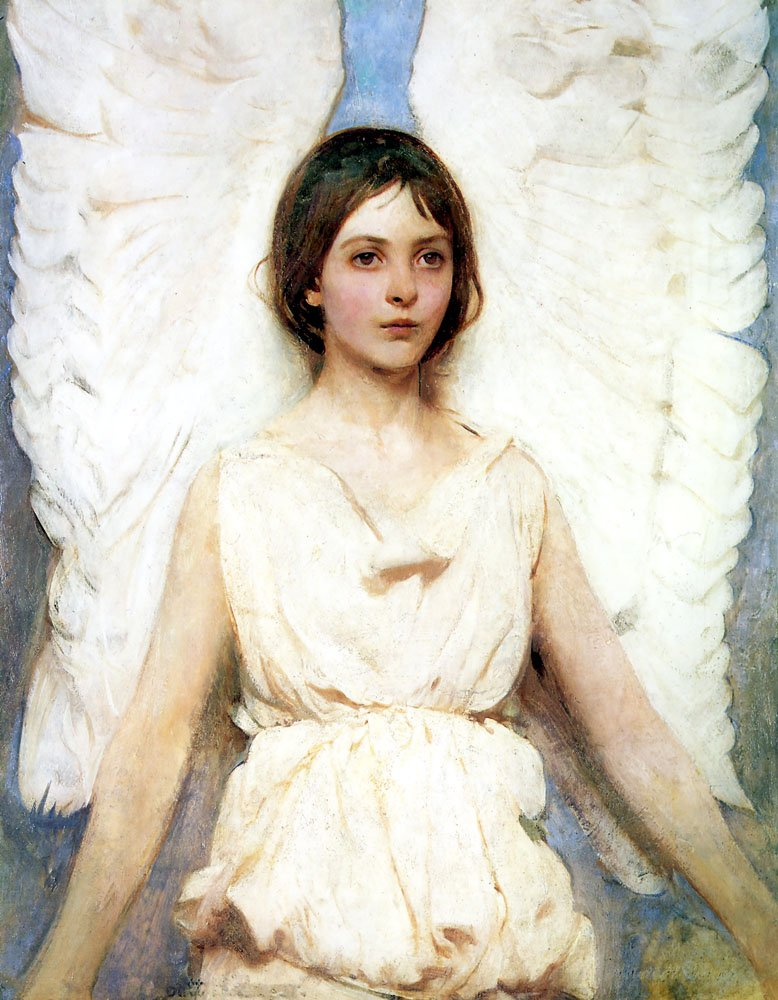 Angel | Abbott Henderson Thayer | Oil Painting