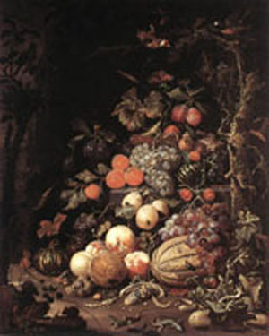 Still Life 1672 | Abraham Mignon | Oil Painting