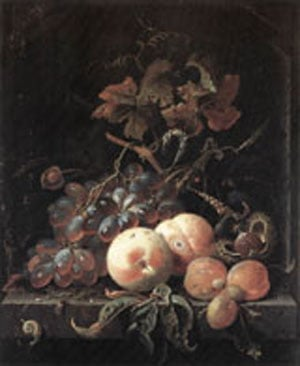 Still Life With Fruits 1660s | Abraham Mignon | Oil Painting