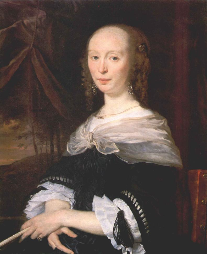 Portrait of a Lady 1660-63 | Abraham Van Den Tempel | Oil Painting