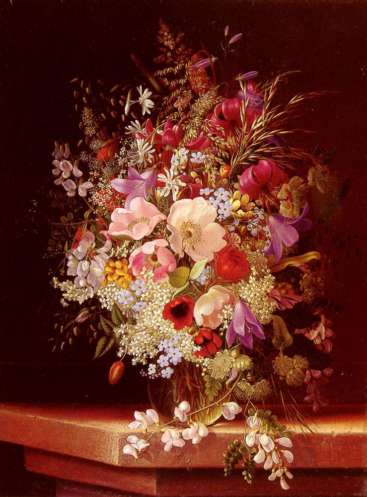Still Life With Flowers | Adelheid Dietrich | Oil Painting