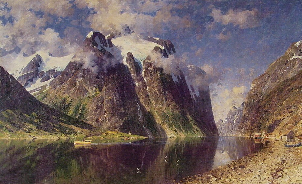 The Fjord | Adelsteen Normann | Oil Painting