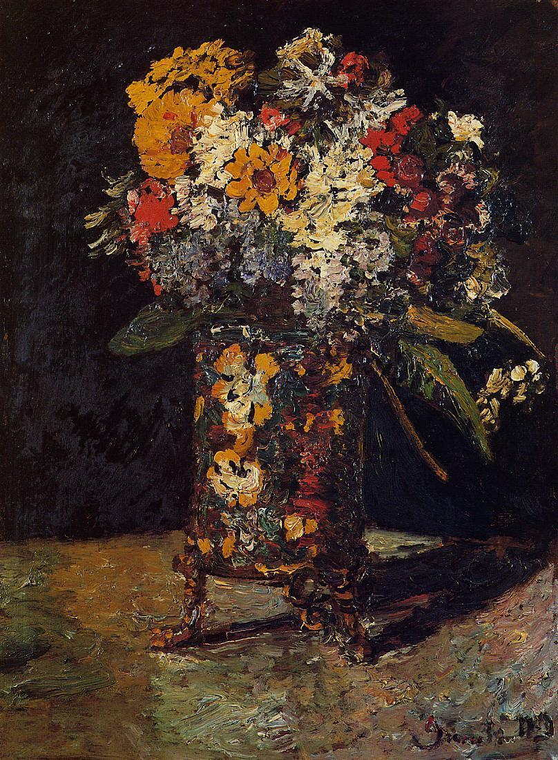 Bouquet of Flowers | Adolphe-Joseph-Thomas Monticelli | Oil Painting