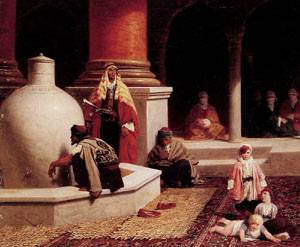 In the Harem | Adolphe Yvon | Oil Painting