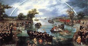 Fishing For Souls 1614 | Adriaen Pietersz Van De Venne | Oil Painting