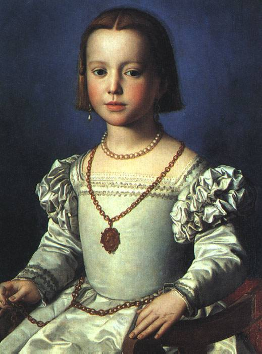 Bia The Illegitimate Daughter Of Cosimo I De Medici C1542 | Agnolo Bronzino | Oil Painting