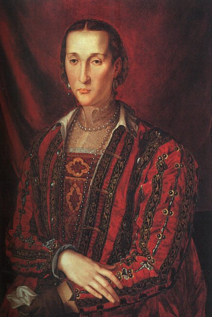 Portrait Of Eleanora Di Toledo 1560 | Agnolo Bronzino | Oil Painting