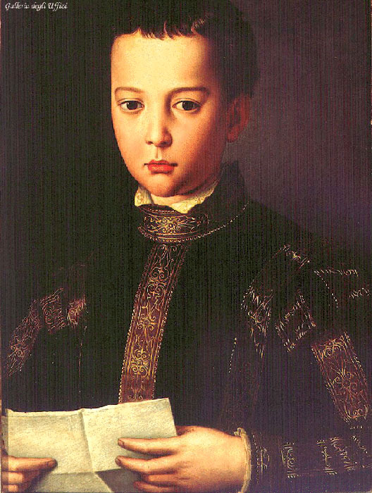 Portrait Of Francesco I De Medici 1551 | Agnolo Bronzino | Oil Painting