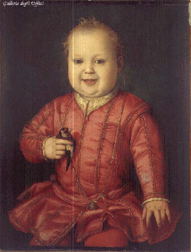 Portrait Of Francesco I De Medici 2 1551 | Agnolo Bronzino | Oil Painting