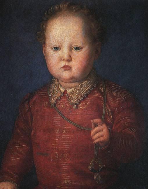 Portrait Of Francesco I De Medici 3 1551   Agnolo Bronzino   Oil Painting
