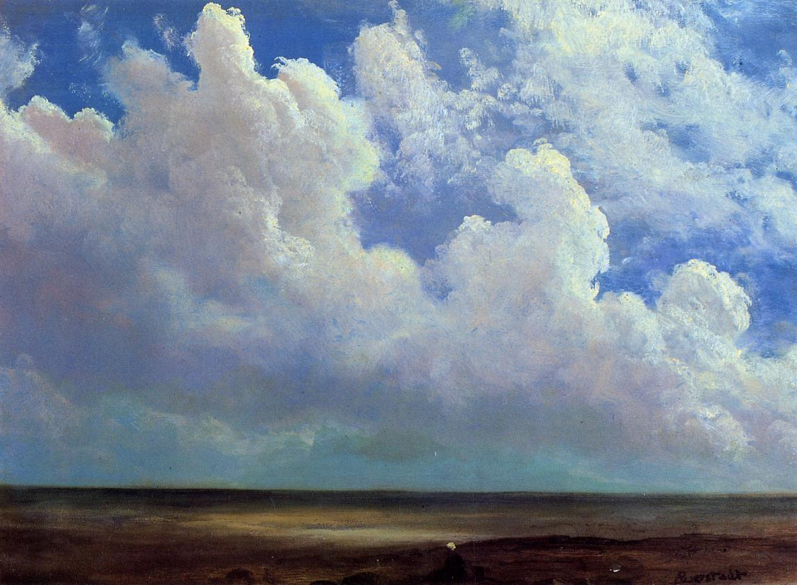 Beach Scene 1871-1873 | Albert Bierstadt | Oil Painting