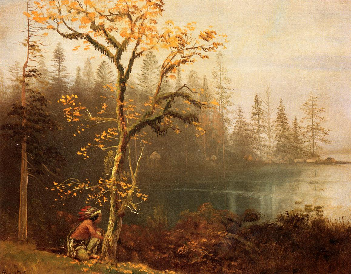 Indian Scout | Albert Bierstadt | Oil Painting