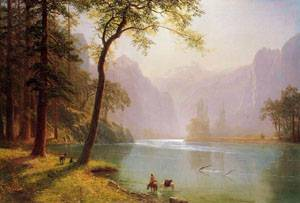 Kerns River Valley California | Albert Bierstadt | Oil Painting