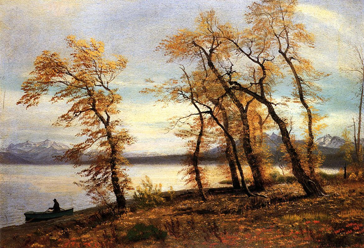 Lake Mary California | Albert Bierstadt | Oil Painting