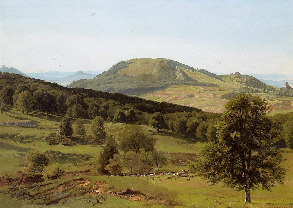 Landscape Hill and Dale | Albert Bierstadt | Oil Painting