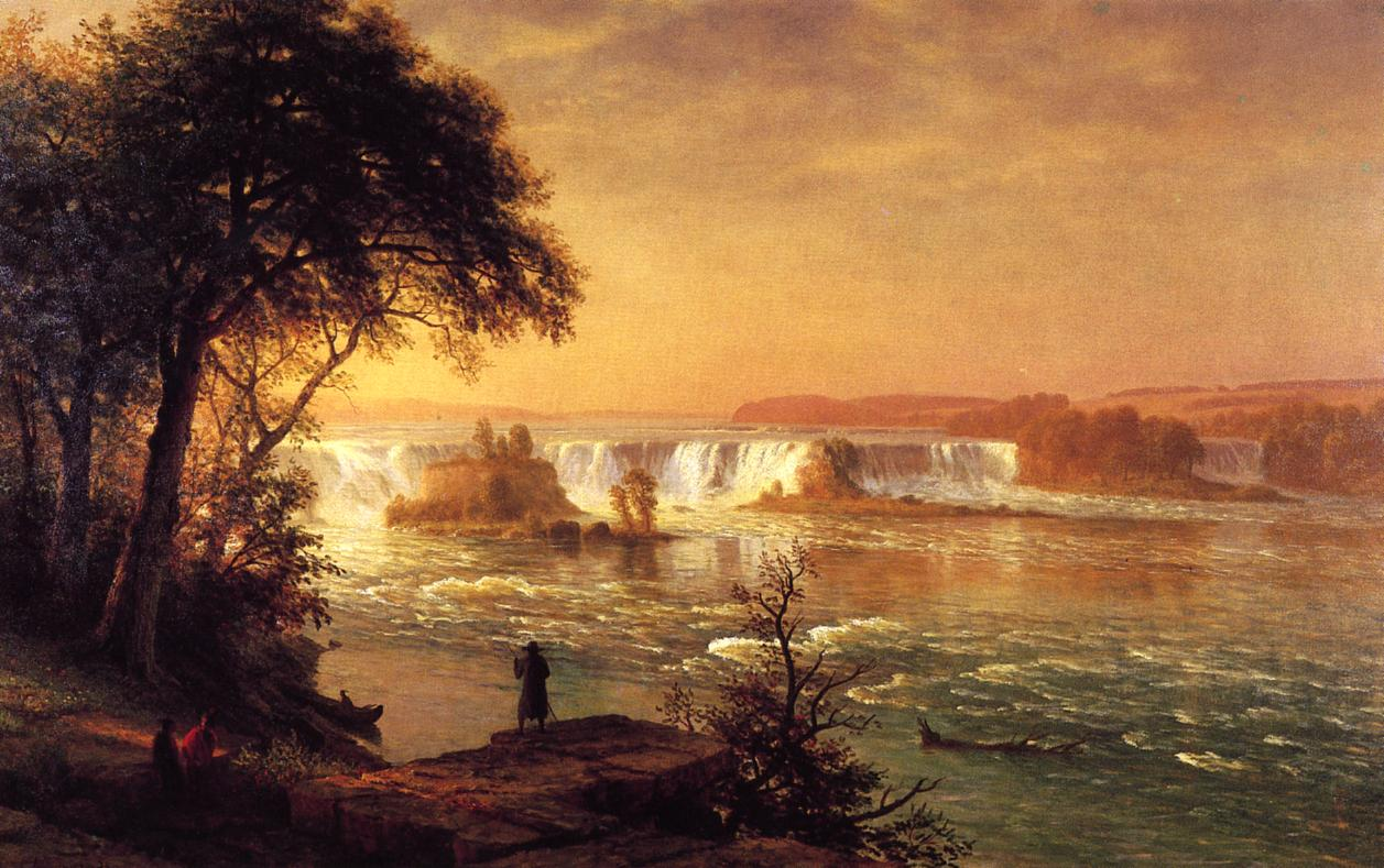 The Falls of St Anthony 1880-1887 | Albert Bierstadt | Oil Painting