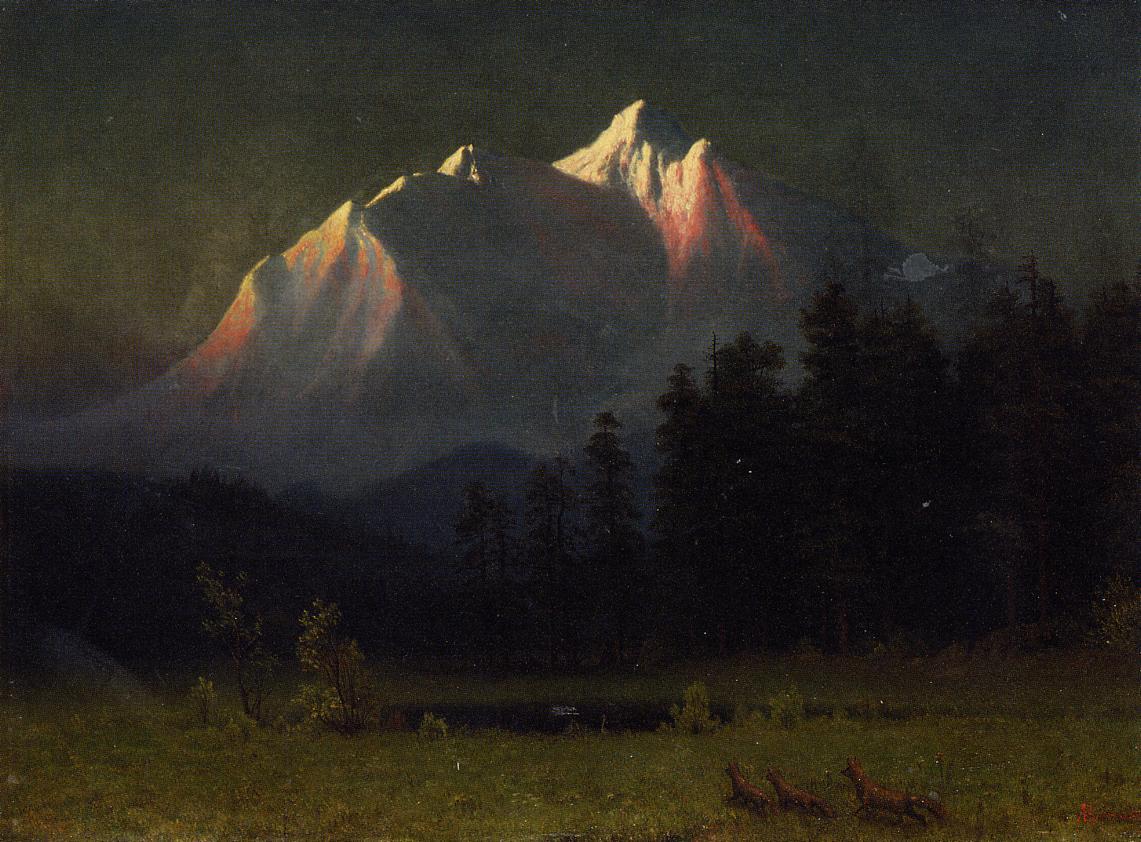 Western Landscape 1871 | Albert Bierstadt | Oil Painting