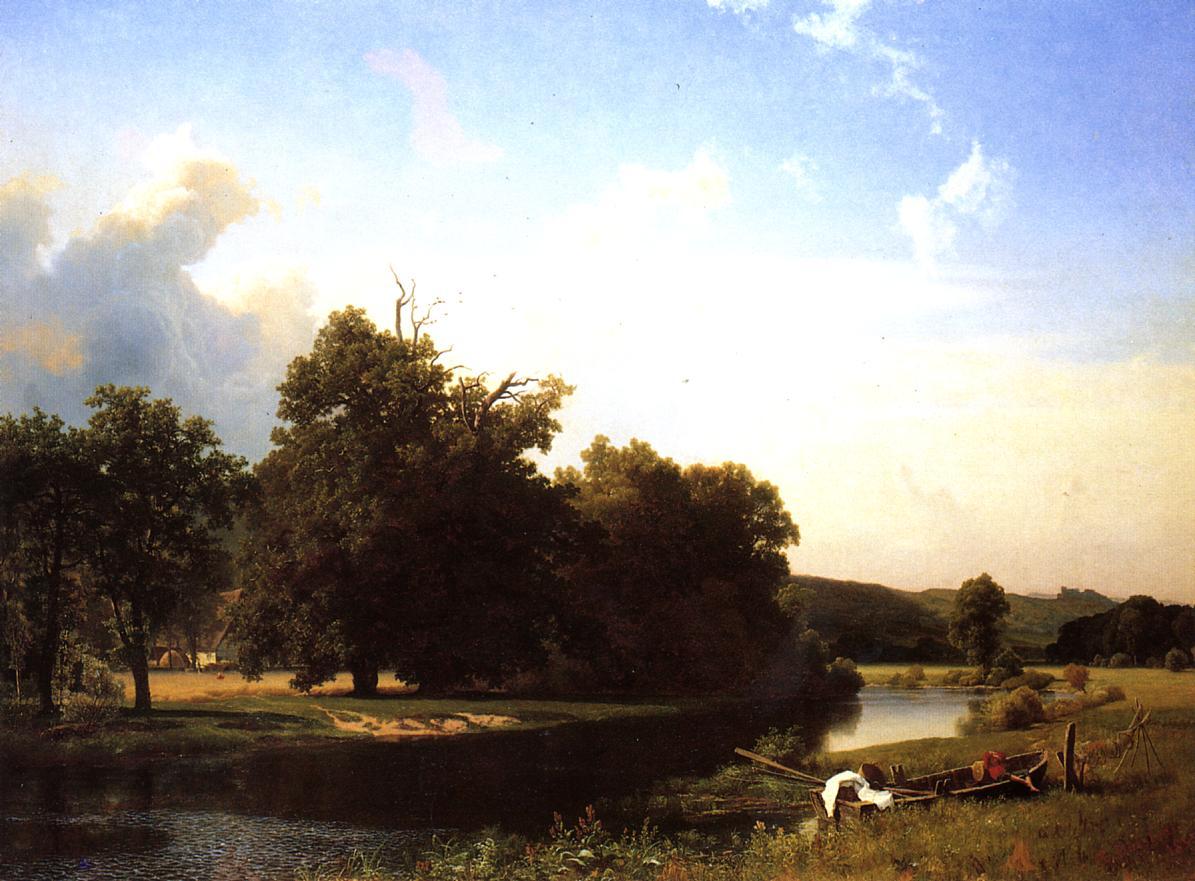 Westphalia 1855 | Albert Bierstadt | Oil Painting