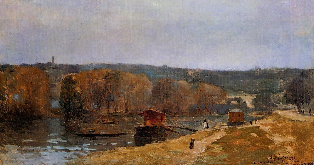 Billancourt Landscape 1892 | Albert Lebourg | Oil Painting