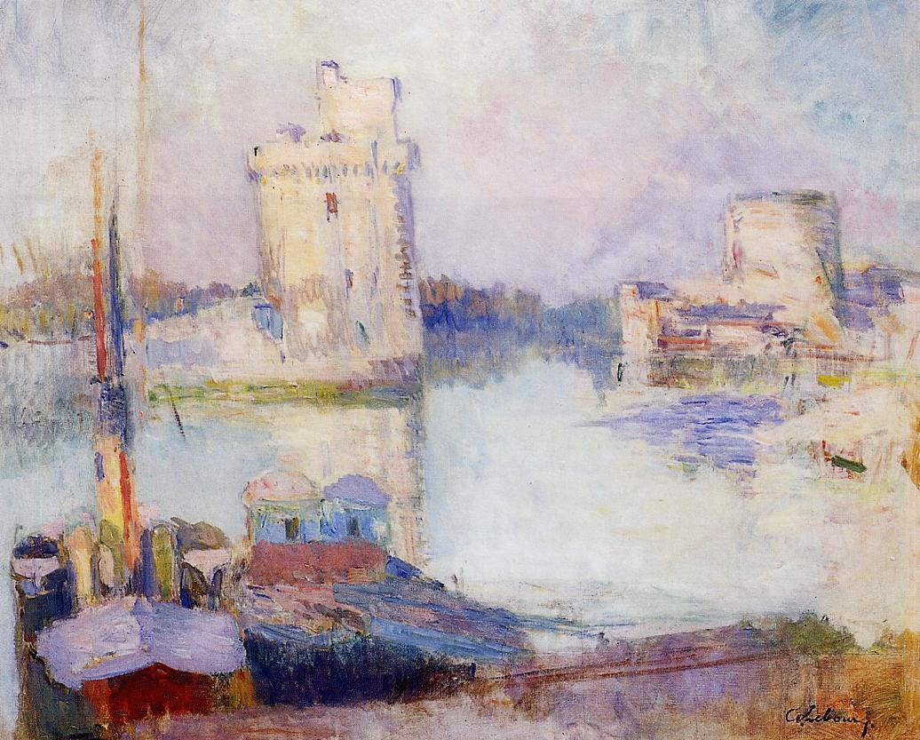 La Rochelle the Port | Albert Lebourg | Oil Painting