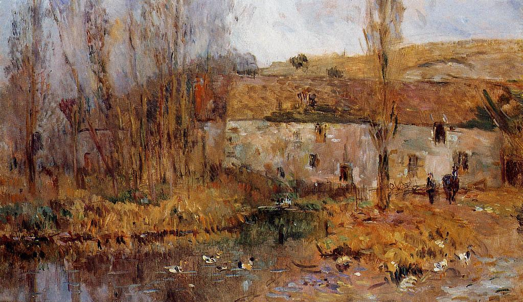 Mill in Normandy | Albert Lebourg | Oil Painting