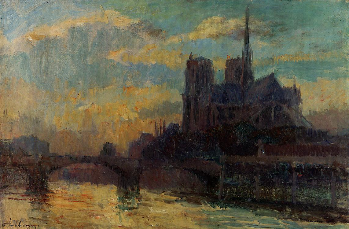 Notre-Dame Paris | Albert Lebourg | Oil Painting