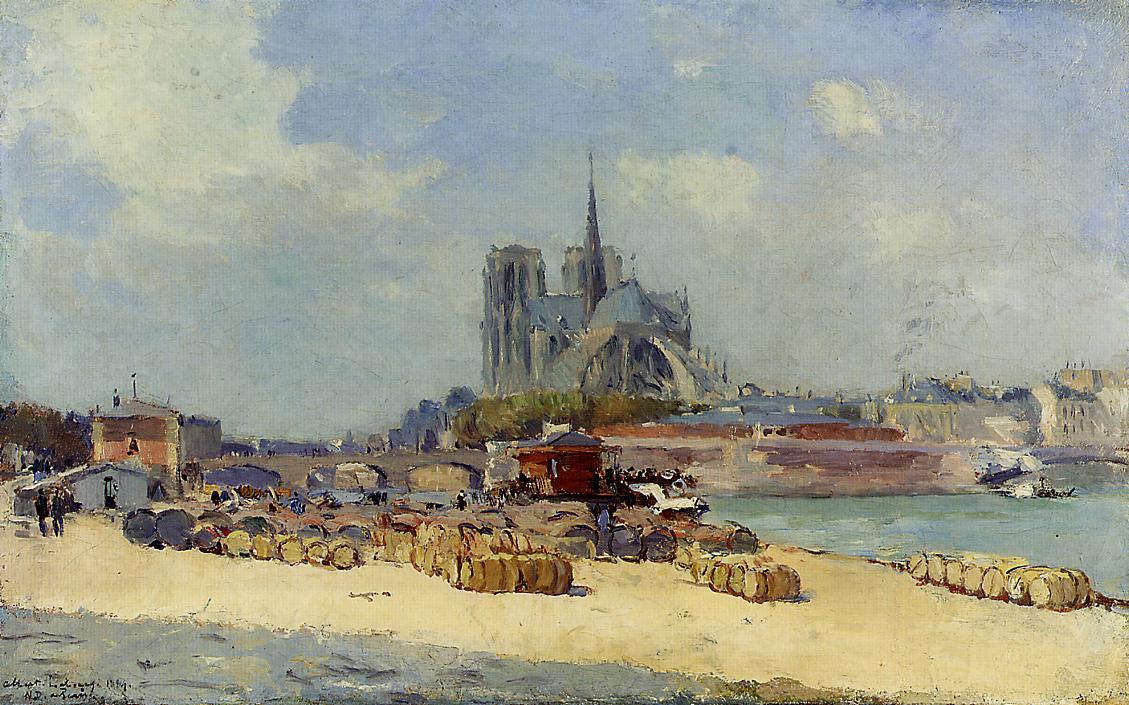 Notre Dame Paris 1897 | Albert Lebourg | Oil Painting