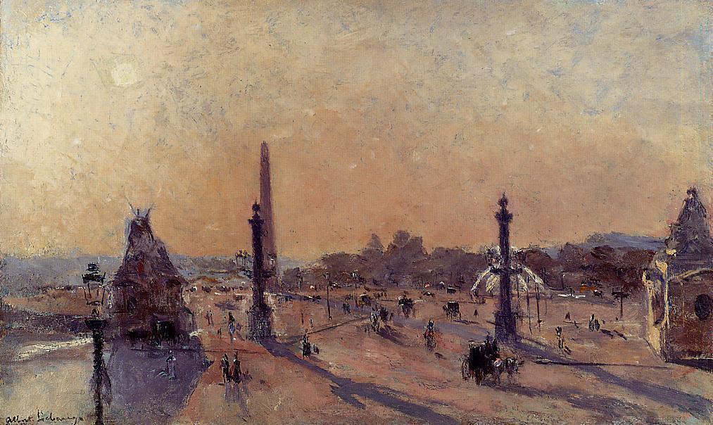 Place de la Concord 1890 | Albert Lebourg | Oil Painting