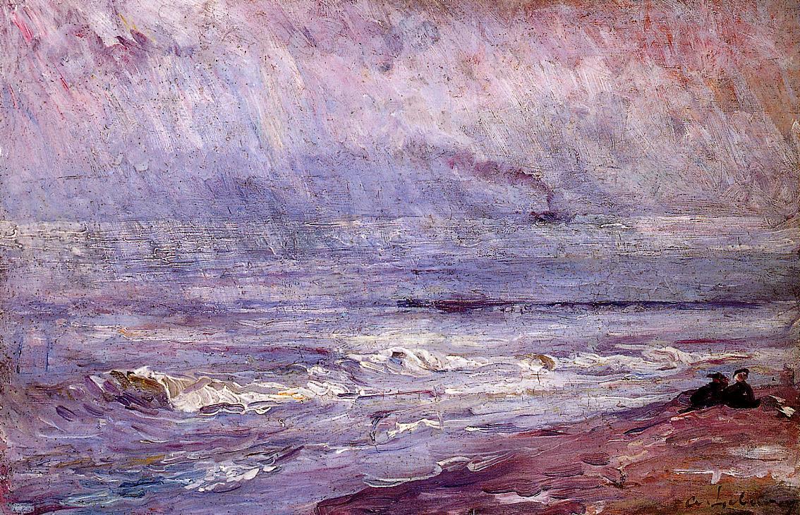 Seascape 1880 | Albert Lebourg | Oil Painting