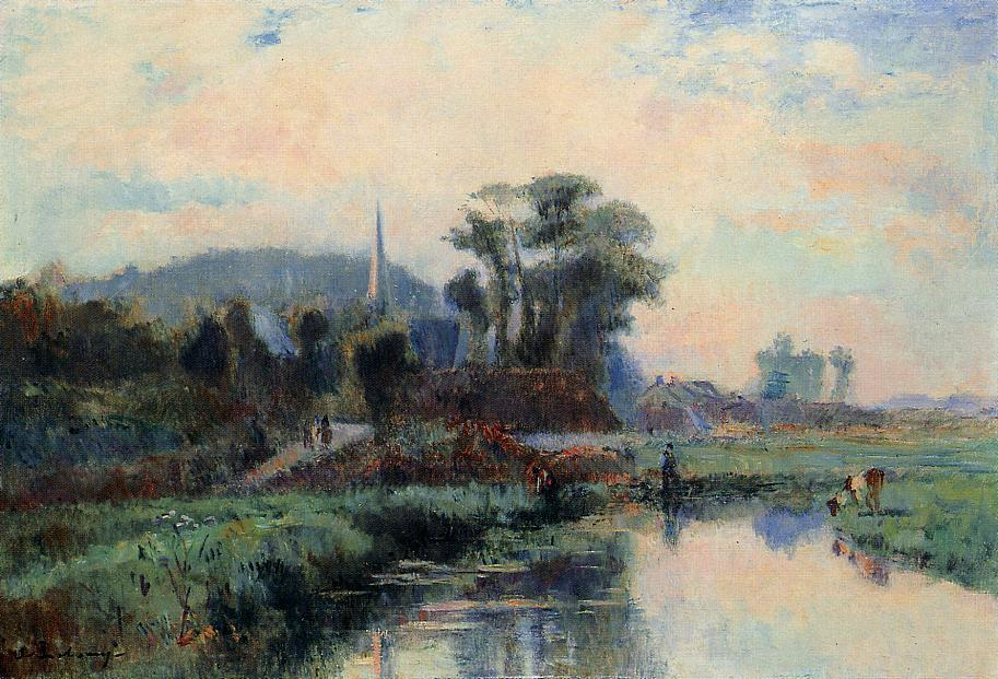 The Banks of the Durdent | Albert Lebourg | Oil Painting