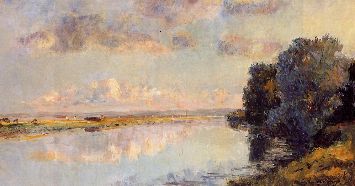 The Banks of the Seine at Maisons-Lafitte   Albert Lebourg   Oil Painting