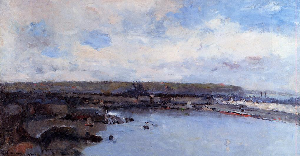The Dieppe Basin | Albert Lebourg | Oil Painting