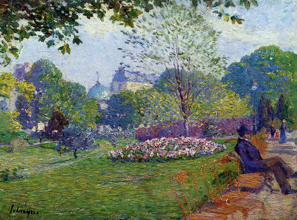 The Parc Monceau 1900 | Albert Lebourg | Oil Painting