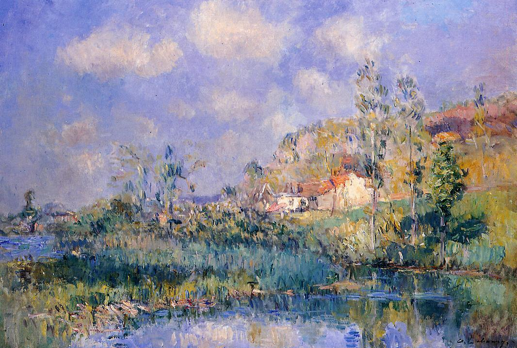 The Pond at Eysies | Albert Lebourg | Oil Painting
