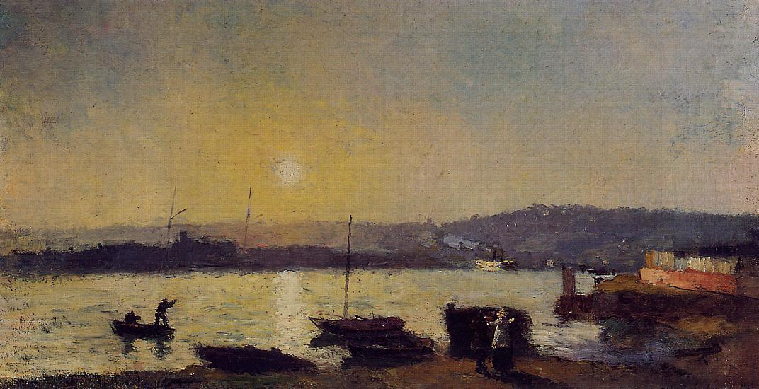 The Saine at Rouen 1892 | Albert Lebourg | Oil Painting
