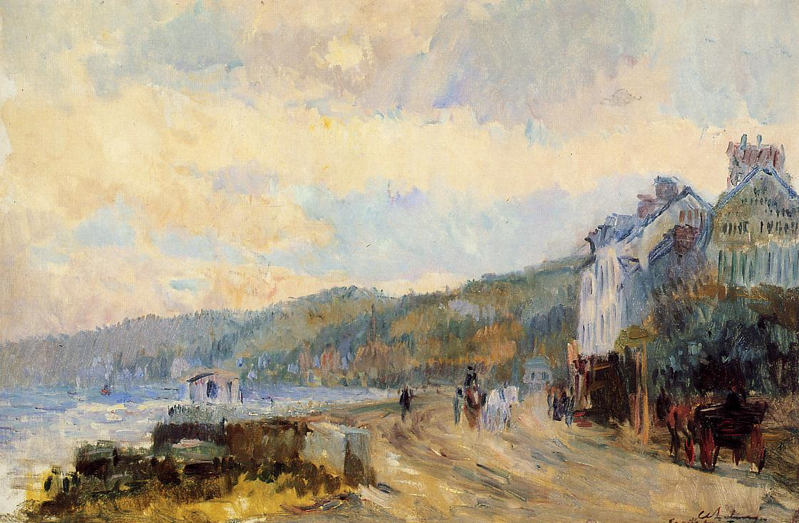 The Seine at Croisset near Rouen | Albert Lebourg | Oil Painting