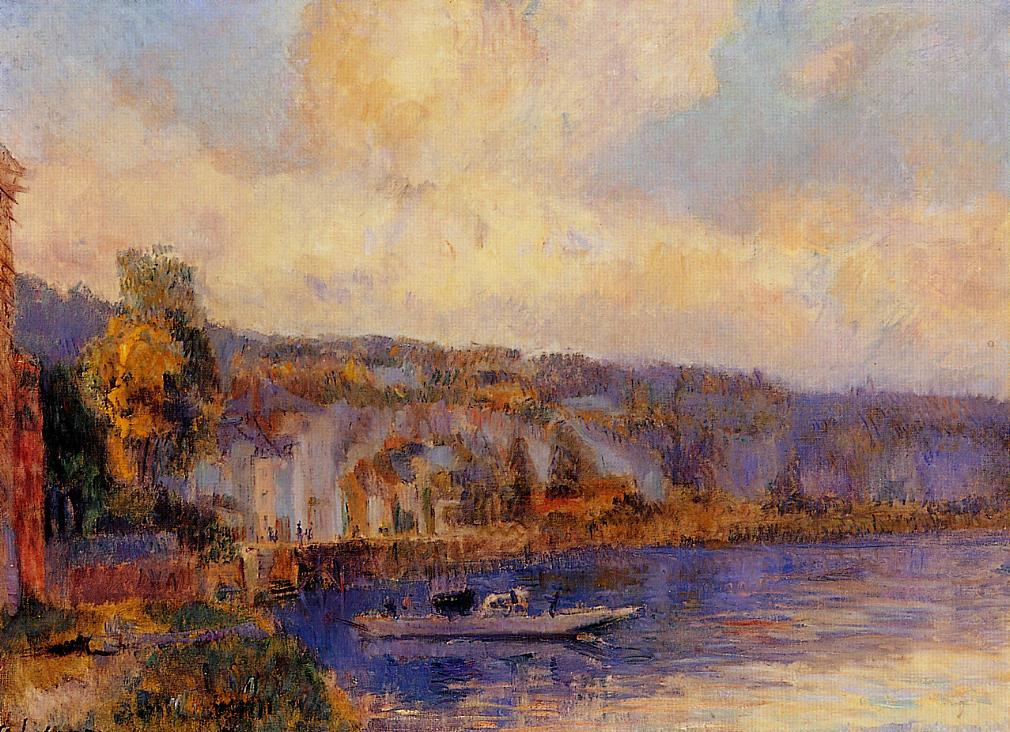 The Seine at La Bouille | Albert Lebourg | Oil Painting