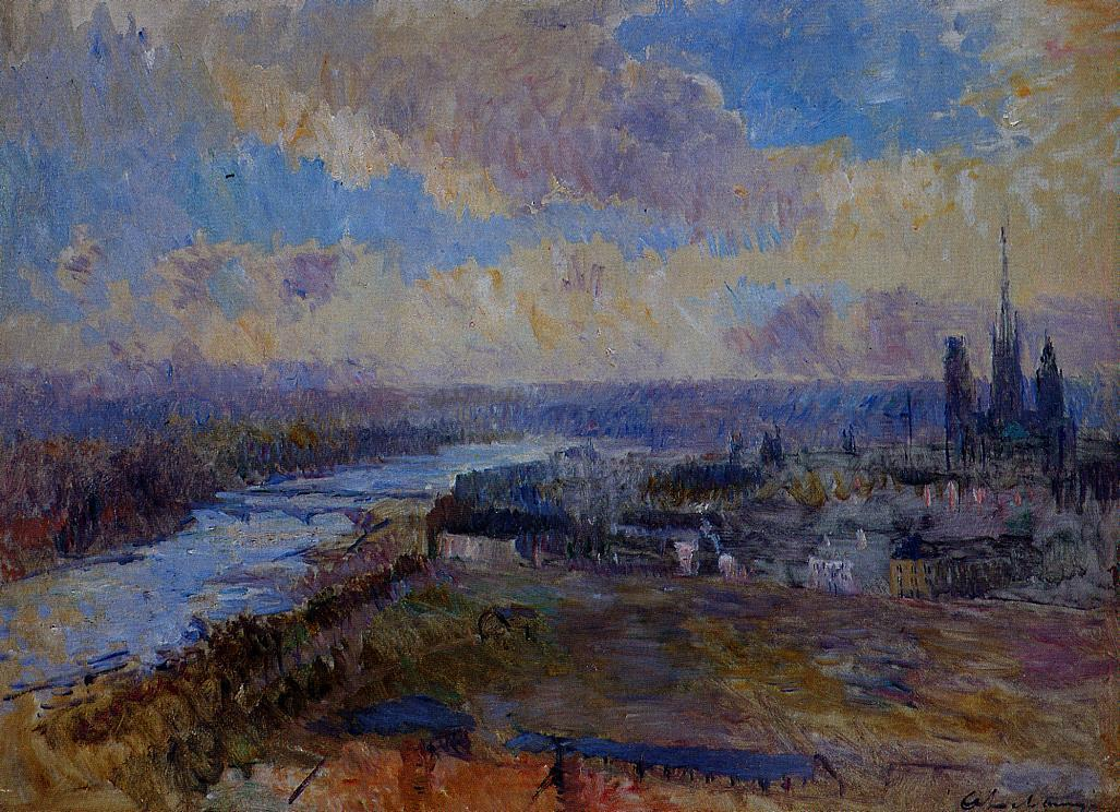 The Seine at Rouen | Albert Lebourg | Oil Painting