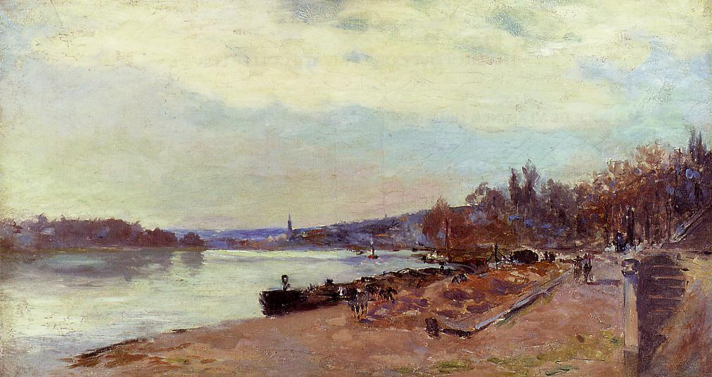 The Seine at Suresnes | Albert Lebourg | Oil Painting