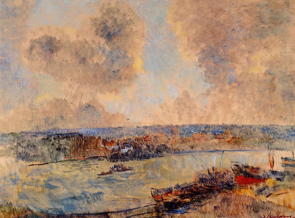 The Seine near Paris | Albert Lebourg | Oil Painting