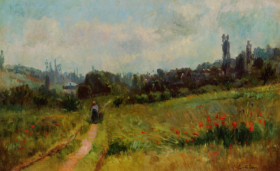 Vetheuil Path Morning Effect | Albert Lebourg | Oil Painting