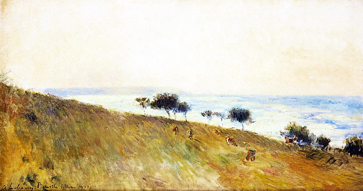 View of Berville-sur-Mer 1901 | Albert Lebourg | Oil Painting