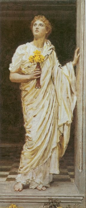A Decorator 1887 | Albert Moore | Oil Painting