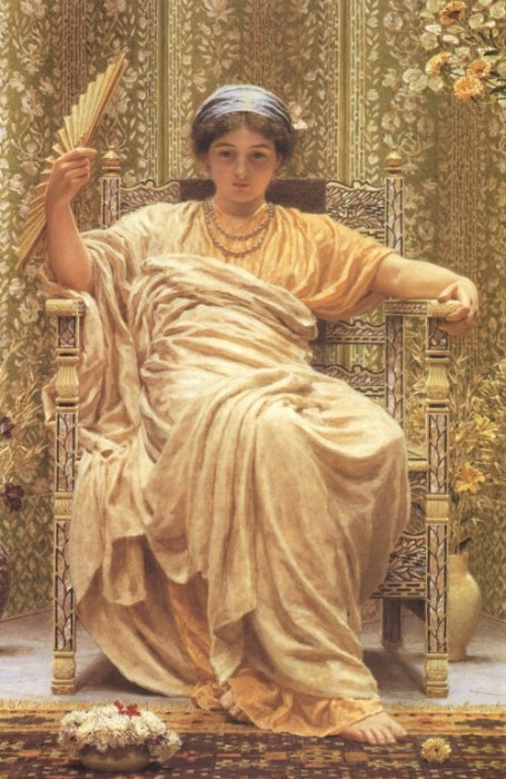 A Revery 1892 | Albert Moore | Oil Painting