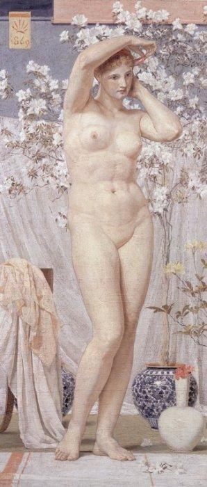 A Venus 1869 | Albert Moore | Oil Painting