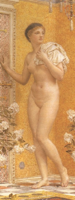 A Yellow Room 1885 | Albert Moore | Oil Painting