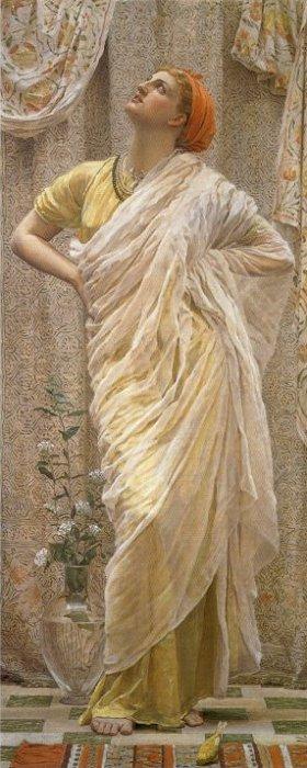 Birds 1878 | Albert Moore | Oil Painting