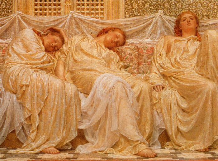 Dreamers 1879-82 | Albert Moore | Oil Painting