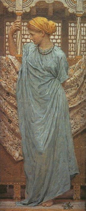 Forget Me Nots 1881 | Albert Moore | Oil Painting